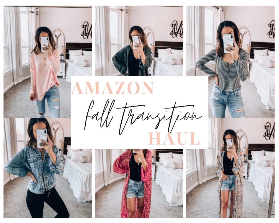 Amazon Fall Transition Haul