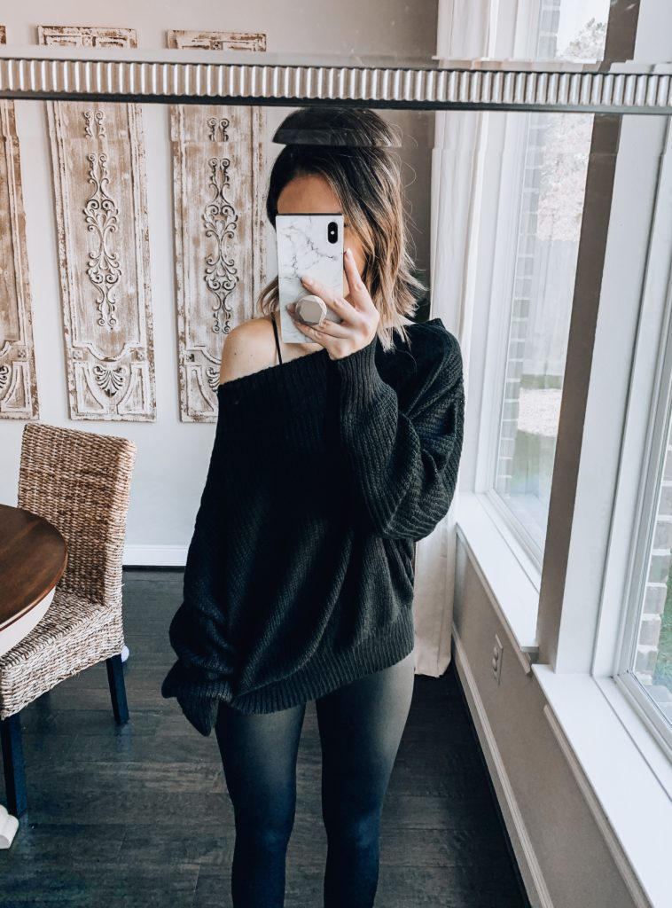 amazon fashion off the shoulder sweater